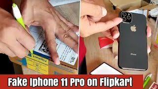 Fake iPhone 11 Pro on Flipkart😡😡