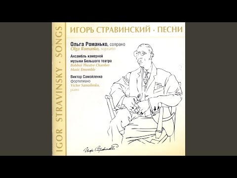 Four Russian Folk Songs: I. The Drake (Round Dance)