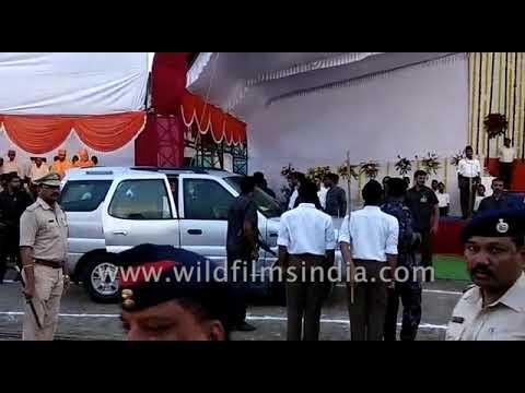 Former President Pranab Mukherjee arrives at RSS event in Nagpur