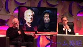 Star Wars Celebration Anaheim 2015 - Ian McDiarmid - The Emperor Strikes Back