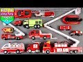 🔴 New Fire Vehicles For Kids Children Babies Toddlers | Fire Truck Song For Kids Children Toddlers