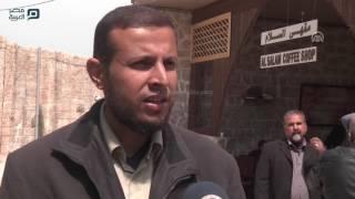 مصر العربية | أول مدينة إنتاج إعلامي في غزة تحاكي أحياء