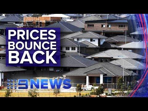 Sydney And Melbourne Property Prices Set To Bounce Back | Nine News Australia