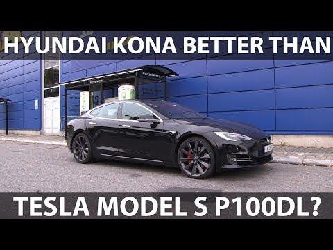Model S P100DL Range Test