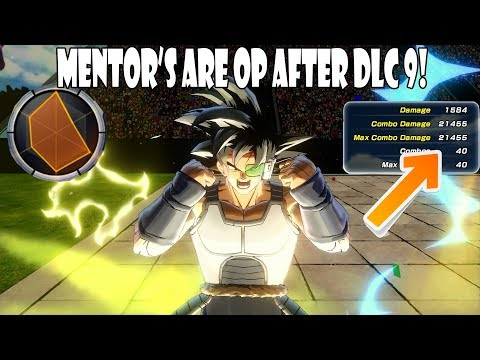 Xenoverse 2 ALL Mentors Are OP After The DLC 9 Update
