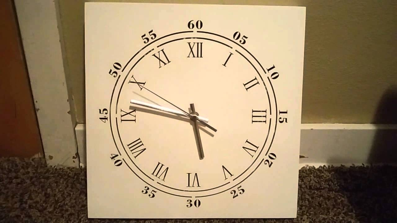 Led light up white wall clock review youtube led light up white wall clock review mozeypictures Images