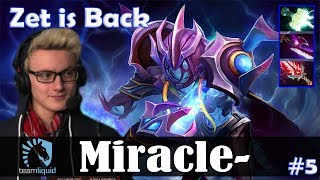 Miracle - Arc Warden MID | Zet is Back | Dota 2 Pro MMR Gameplay #5