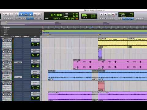 Pro Tools - How to change the tempo of an entire Pro Tools session (Mac)