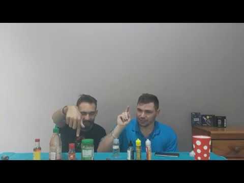 DIY E-juice | Vape Pairing with Hot sauce