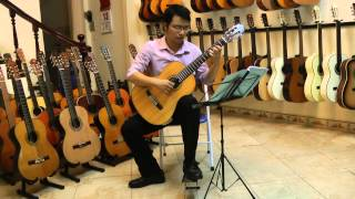Song from secret garden_ Vũ Hiển guitar