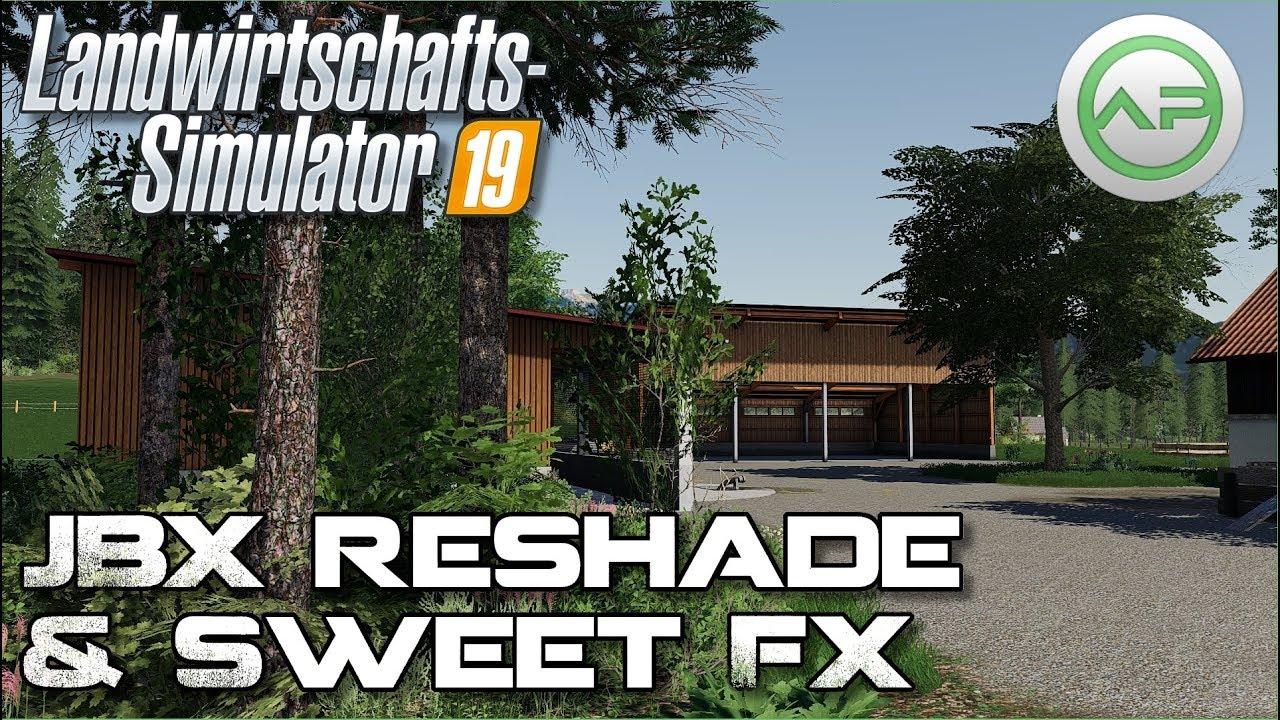 Download LS19 - Bessere Grafik // 🆂🅷🅰🅳🅴🆁 // Realistic Lighting 2 JBX v1.9.12 // SeetFX & Reshade