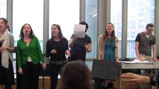 """Stuyvesant Open Mic 2013 """"We Will Never Ever Teach Kids So Clever"""" English Teachers SIng"""