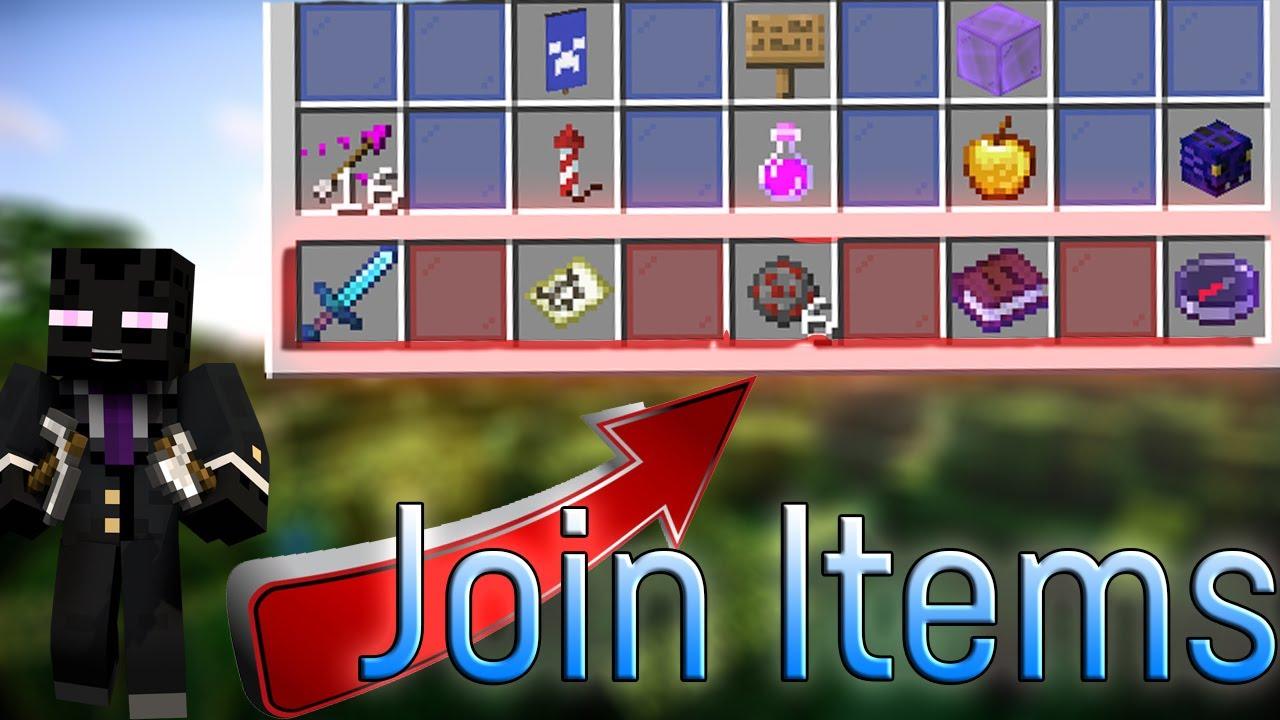 Custom Join Items [Free]   Minecraft Plugins