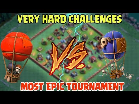 BALLOON VS DROP SHIP   VERY HARD CHALLENGES IN COC HISTORY   MUST WATCH