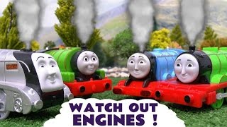 Thomas and Friends Play Doh Story Accident Crash Minions Thomas Watch Out Engines Play-Doh