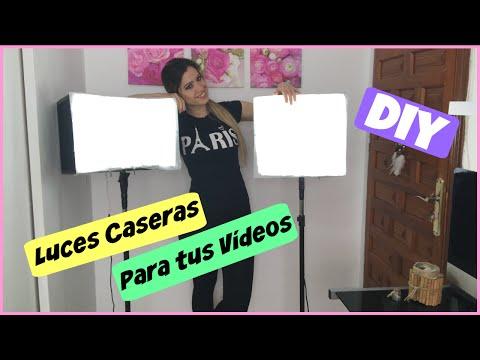 DIY | Luces Caseras Para tus Videos | NatyGloss