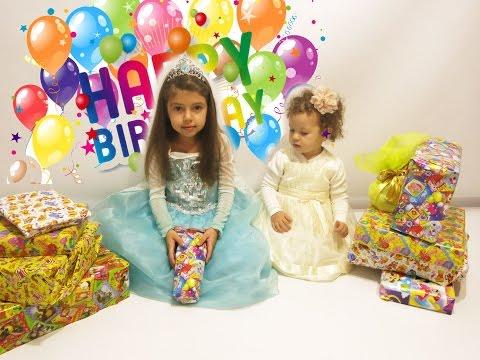 видео: Открываем подарки в мой День Рождения. opening birthday  presents
