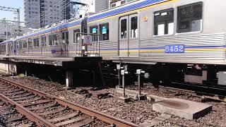 南海高野線 北野田駅 6300系(6302+6334編成) 回送通過