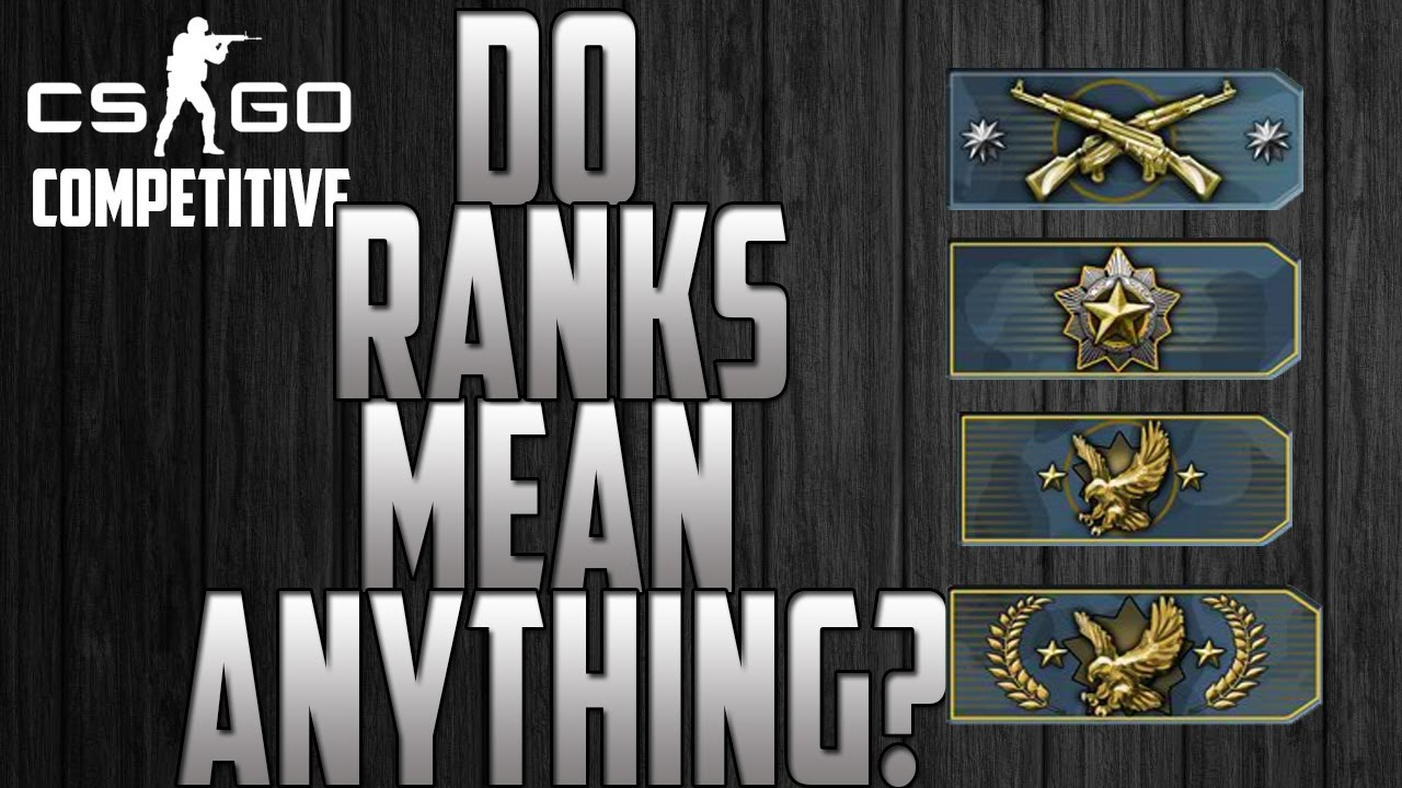 how to rank up in cs go competitive