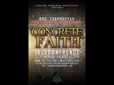 """Concrete Faith Ep3: """"Does Archaeology confirm the Hebrew occupancy in Canaan after the Exodus?"""""""