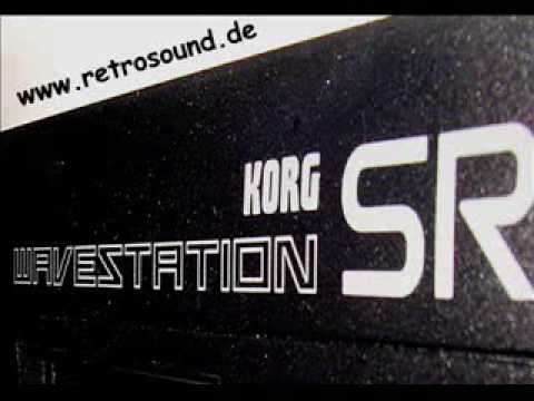 "Korg Wavestation SR ""Vector Synthesizer module"""