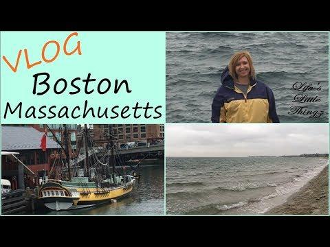 VLOG ~ Our week in Boston Massachusetts