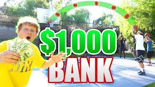 $1,000 GAME OF 'CALL YOUR SHOT' BANK!