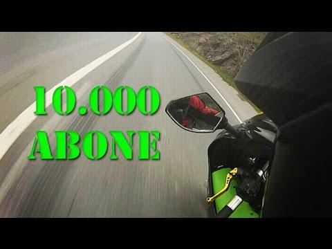 10.000 Abone / Bileği Bükmek / Ninja 250SL
