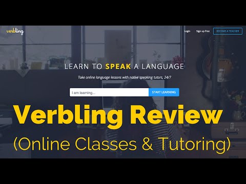Verbling Review: Online Classes for Learning a Foreign Language