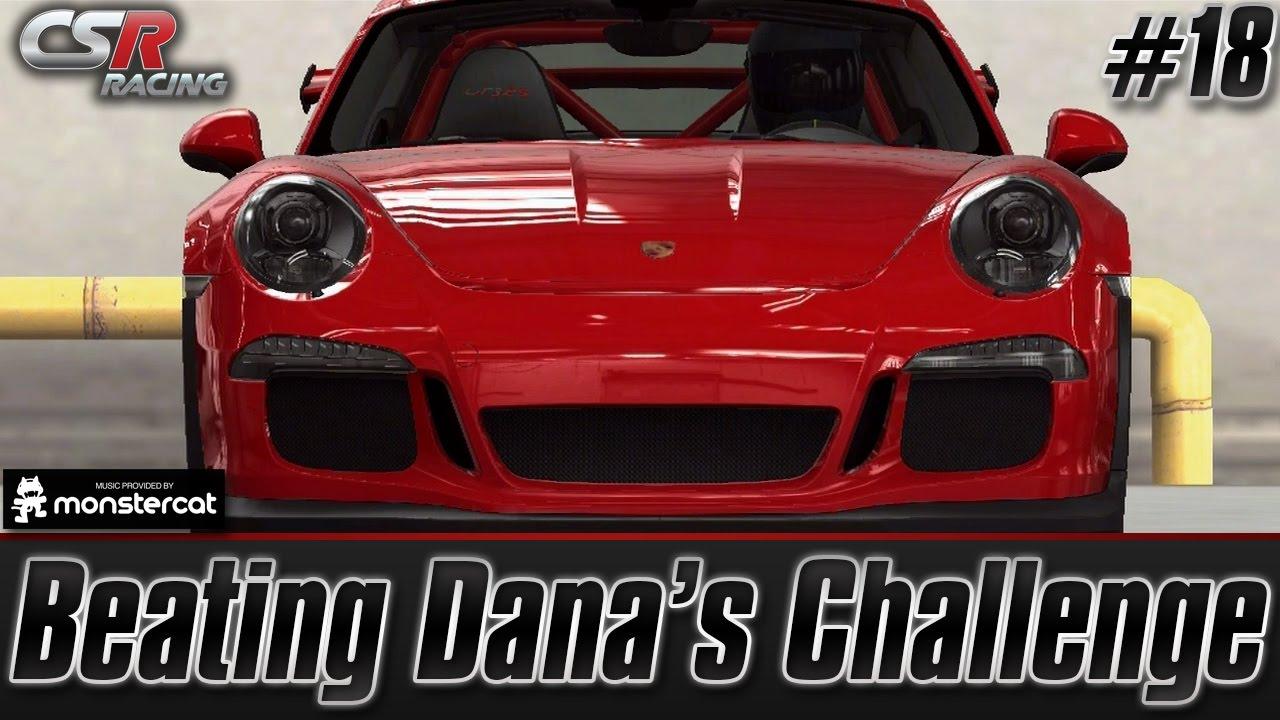 CSR Racing 2 The TEMPE5T: Beating Dana's Challenge