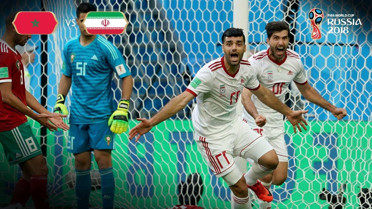 Aziz BOUHADDOUZ (MAR) - OWN GOAL v IR Iran - MATCH 4