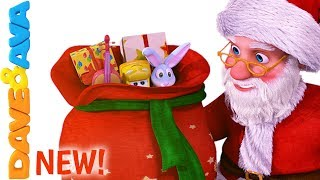 🎁 Santa | Christmas Songs for Children | Christmas Songs for Kids from Dave and Ava 🎅