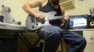 Take No Prisoners guitar solo playthrough