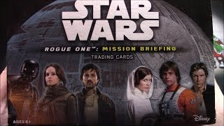 Star Wars: Rogue One Mission Briefing Box!