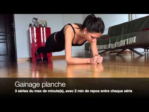 Programme Musculation Femme à la maison sans matériel