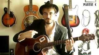 La nuit je mens (Bashung) - Tuto guitare - Part 2/2