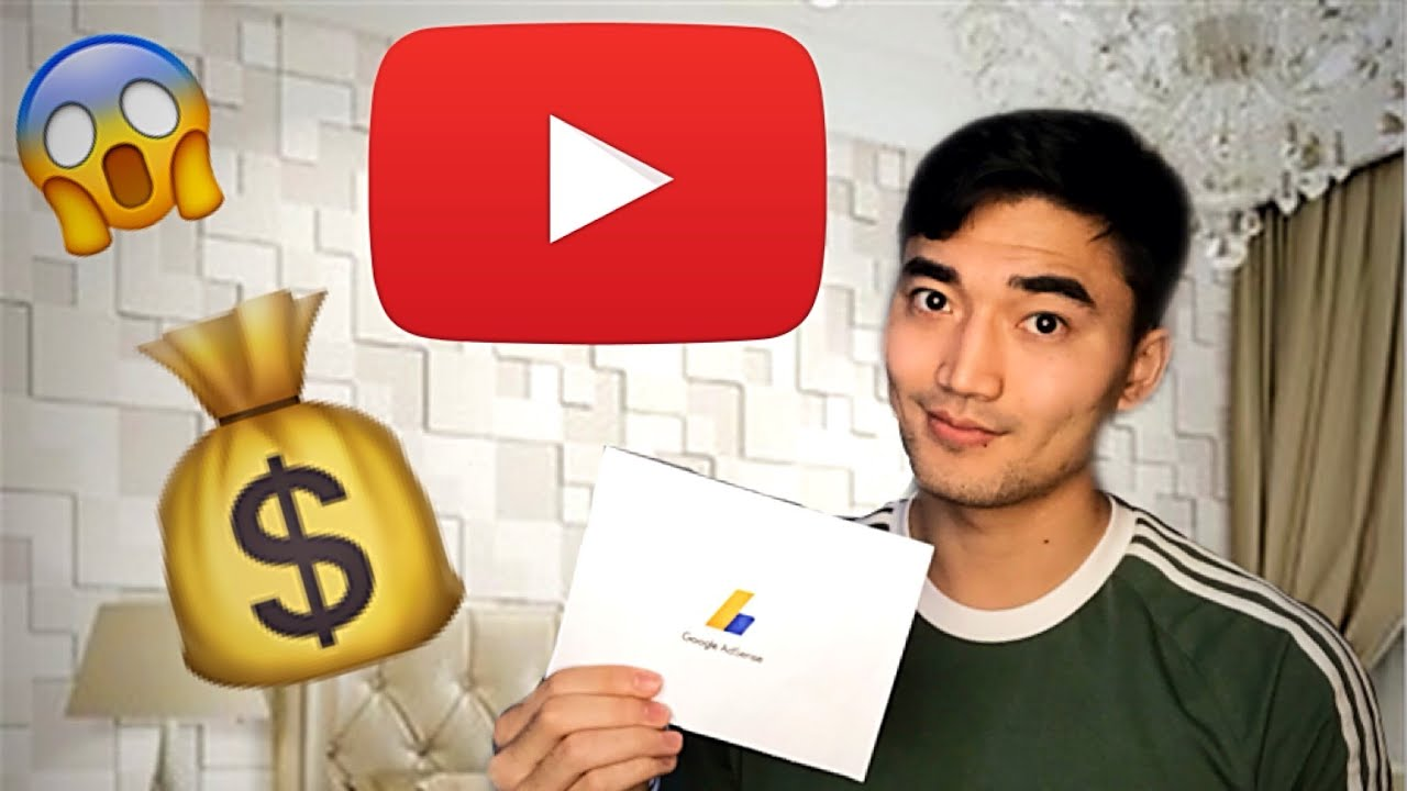 My First Youtube Paycheck + How To Make Money On Youtube (2019)