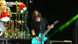 Foo Fighters Lollapalooza 7 Abril 2012 Sao Paulo - Enough Space