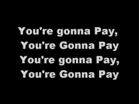 The Undertaker - You're Gonna Pay lyrics