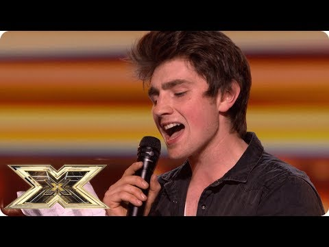 Brendan wows the crowds with This Woman's Work   Auditions Week 1   The X Factor UK 2018
