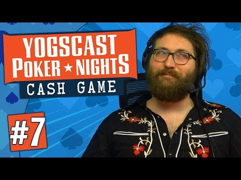 Yogscast Poker Nights | Cash Games #7 - Three Pair and Wraparounds