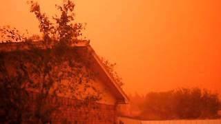 Lubbock Texas  Dust Storm West Texas 17:47 10-17-2011