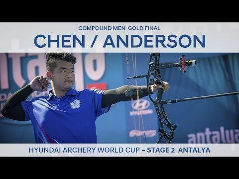Chen Hsiang-Hsuan v Steve Anderson – Compound Men Gold Final | Antalya 2017