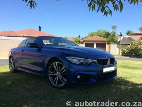 2014 bmw 4 series 435i convertible msport steptronic auto for sale on auto trader south africa. Black Bedroom Furniture Sets. Home Design Ideas