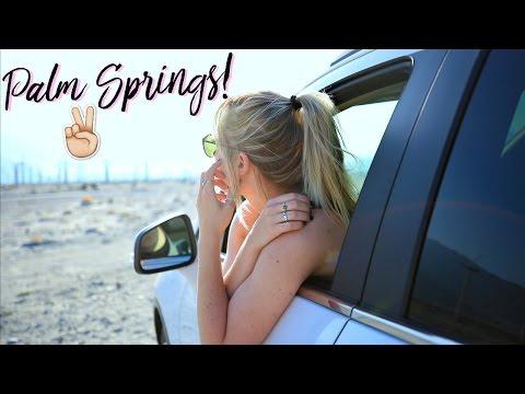 Road Trip To Palm Springs!   Ashley Nichole