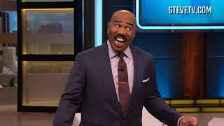 Steve Harvey's Take On The Frozen Iguanas In Florida