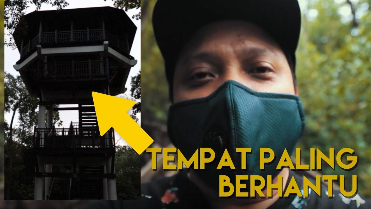KC Explore Menara SERAM Dalam Hutan Paya | Saya JOGGING Benda tu pun ikut Jogging