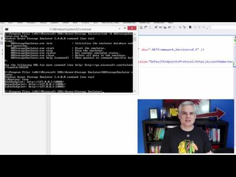 06 Using the Azure Storage Emulator for Development and