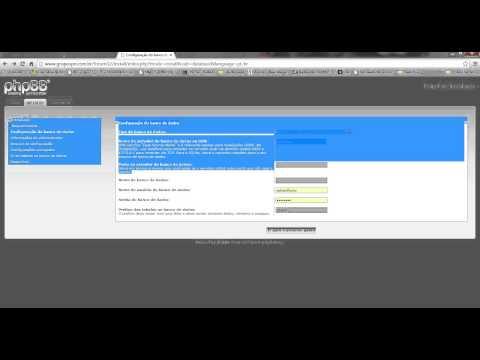 Criando um fórum super fácil Instalando o (phpBB)