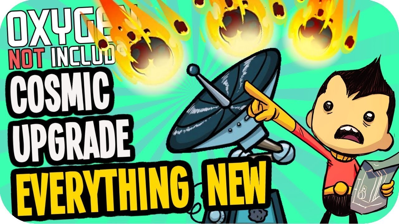 Oxygen Not Included COSMIC UPGRADE: EVERYTHING NEW! The Surface, Meteor  Showers, Solar Panel, Bunker